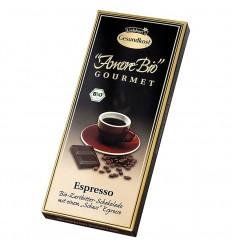 LIEBHART'S AMORE BIO – Ciocolată amăruie Espresso, 55% cacao, 100 g
