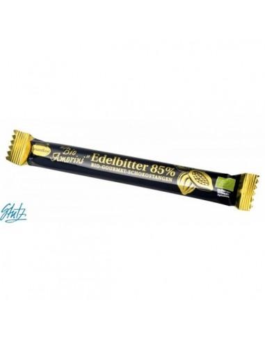 LIEBHART'S BIO AMORINI – Baton de ciocolată neagră Bio Gourmet, 35 g