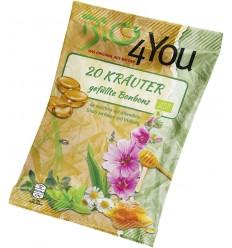 BIO 4 YOU – Dropsuri BIO cu plante medicinale, 75 g