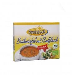 Erntesegen – Cuburi ecologice pentru supă, cu carne de vită, 72g (6x12g)