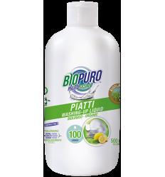 BIOPURO – Detergent lichid pentru vase, 500ml