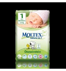 Moltex - Scutece pentru nou născuți (2-4kg)