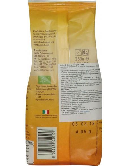 Cafea & Ginseng BIO – 250 g