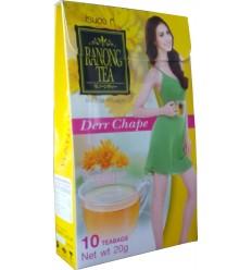 Ceai Ranong cu aromă de crizanteme, 10 plicuri a 2 g