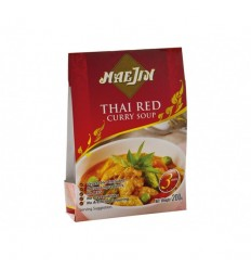 MaeJin-Thai Red - Supă curry roșu, 200g