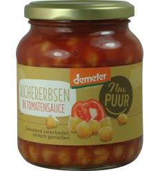 NUR PUUR – Năut Bio în sos de tomate, 350 g