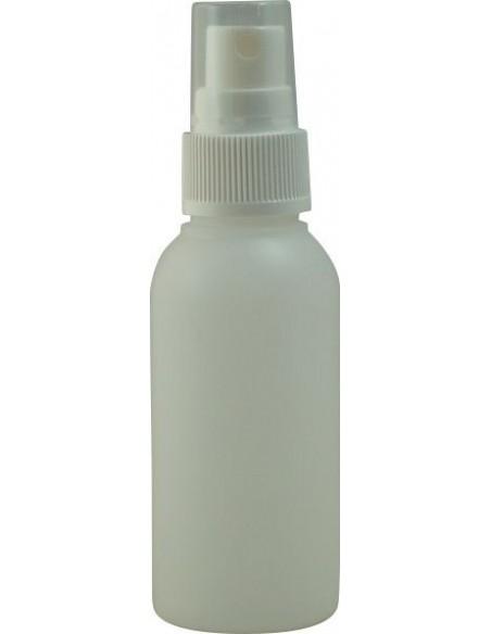 Sticlă plastic cu pulverizator