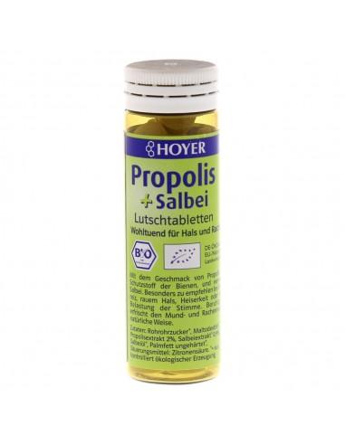 Hoyer – Propolis și salvie - Tablete de supt, 60 de Tablete