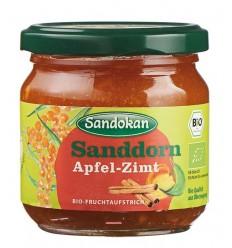 Sandokan - Gem de cătină cu mere și scorțișoară, 225g