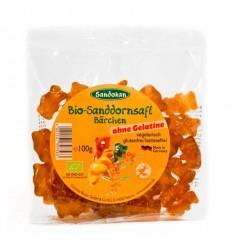 Sandokan - Ursuleți Bio din suc de cătină, 100g