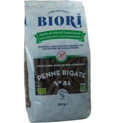 BIORI – Penne BIO din făină de hrişcă, 250 G
