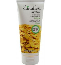 Danatura - Sampon si gel de dus cu ovaz, 200ml
