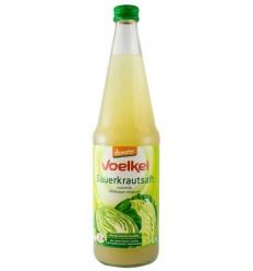 VOELKEL - Suc Bio de varza acra lactofermentat, 0.75L