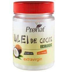 Ulei de cocos ecologic extravirgin, 240 ml