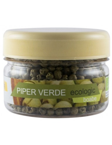 Piper verde boabe ecologice, 15g