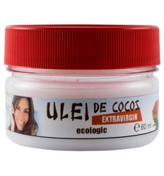 ULEI DE COCOS ECOLOGIC EXTRAVIRGIN, 60 ML