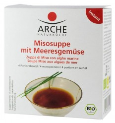 Arche Naturküche – Supa Miso BIO cu legume de mare, 60g
