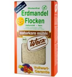 Fulgi din migdale de pamant ecologice, fara gluten, 250 g