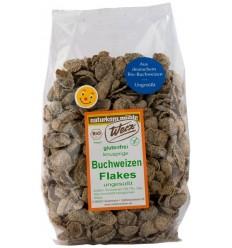 Fulgi de hrisca ecologica integrala, fara gluten, 250 g