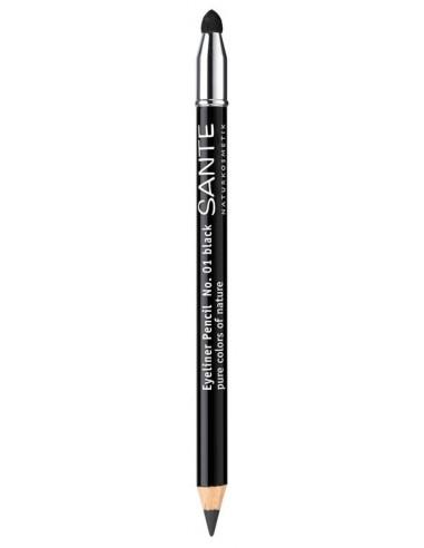 SANTE - Creion contur ochi, nuanta 01 Negru, 1.1 g