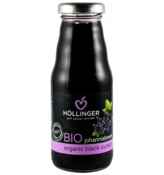 Hollinger - Suc Bio din coacaze negre, 200 ml