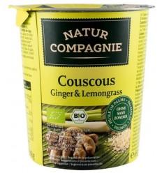 Mancare la pahar Cuscus Ginger & Lemongrass, BIO