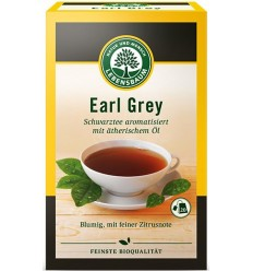 Lebensbaum - Ceai negru aromat cu ulei esential, BIO - Earl Grey, 40g