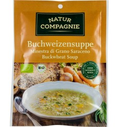 Natur Compagnie - Supa de hrisca, bio, 37g