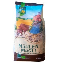 Bohlsener Mühle – Müsli bio/ecologic cu ciocolată, 500g