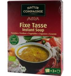 Natur Compagnie - Asia Style - Supa bio instant de legume, 60g
