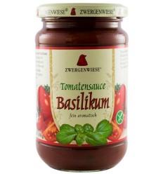 Sos BIO de rosii Basilikum - 340 g ZWERGENWIESE