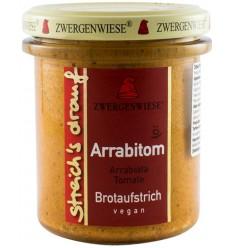 Crema tartinabila BIO Arrabiata si rosii 160 g