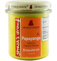 Crema tartinabila BIO picanta cu papaya si mango