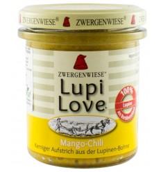 Lupi Love - Cremă tartinabilă Bio vegetală din lupin cu mango și chilli - 165 g