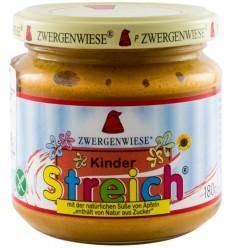 Crema tartinabila BIO vegetala pentru copii, 180 g ZWERGENWIESE