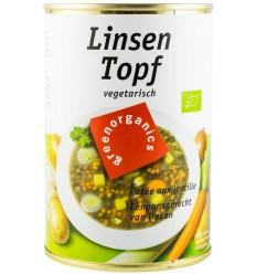 BIOTROPIC - Mâncare de linte ecologică 400 g, netă 240 g