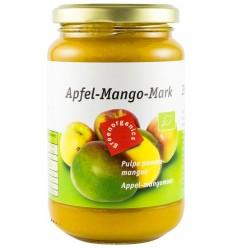 Green Organics - Piure BIO din pulpă de mere și mango – 360g