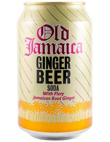 OLD JAMAICA Bere cu ghimbir jamaican fără alcool 330 ml