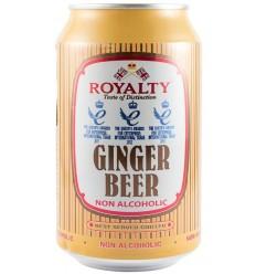ROYALTY Bere cu ghimbir fără alcool 330 ml
