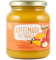 Nur Puur - Sos bio de mere cu mango, 360g