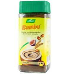 Bambu – Bautura instant bio din fructe si cereale, inlocuitor de cafea, 100 g, Pentru 65 porții