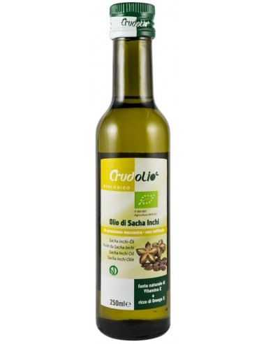 Crudolio – ulei bio de sacha inchi, 250ml