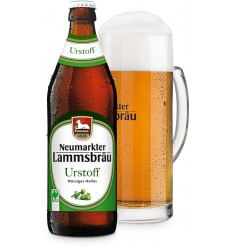 Neumarkter Lammsbrau – Bere Bio Urstoff luminoasa picanta – 4,7 % vol. Alcool, 0,5 L