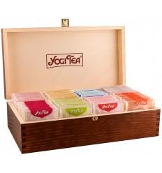 Cutie lemn pentru servire ceai Yogi Tea