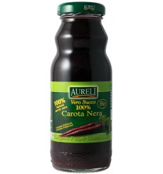 Aureli - Suc de morcovi nergri Bio, 200 ml