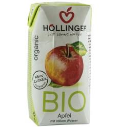 Suc de mere Bio cu pai Hollinger, 200ml