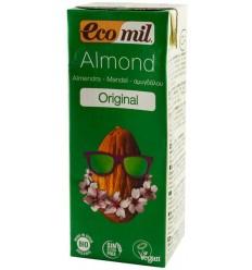 ECOMIL – Bautura BIO de migdale natur, 200 ml