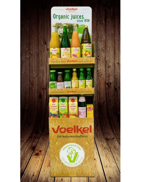 Stand mare din carton Voelkel