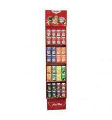Stand mediu din carton Yogi Tea pentru 64 cutii de ceai Yogi Tea