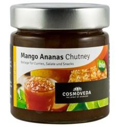COSMOVEDA – Chutney bio de mango si ananas, 225g